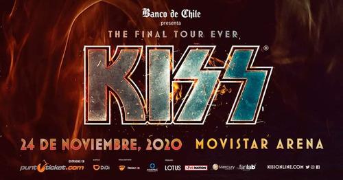 entrada kiss cancha general