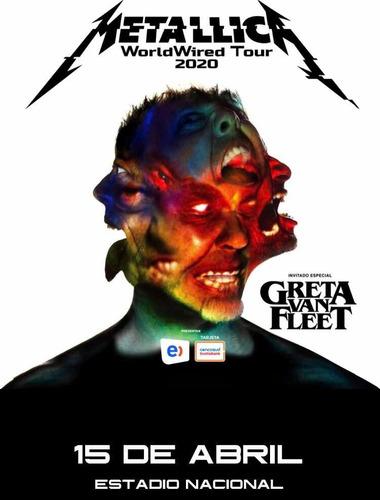 entrada metallica 15/04/2020 cancha general eticket