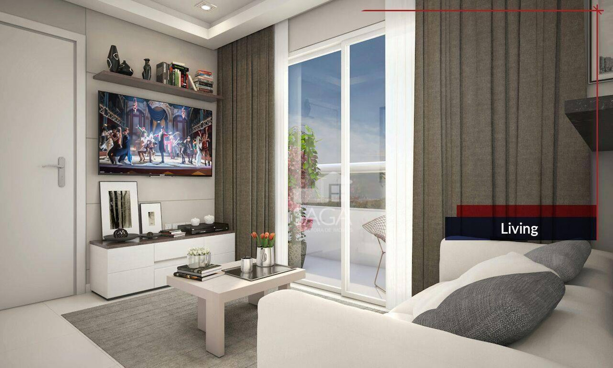 entrada parcelada em 18 meses apartamento com 1 dormitório à venda, 40 m² por r$ 205.000 - canto do forte - praia grande/sp - ap2759
