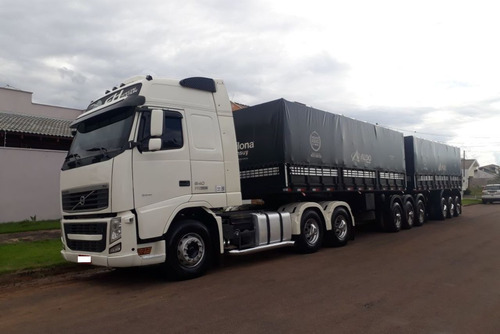 entrada + parcelas volvo fh12 540 6x4 i-shift 2015 + impleme