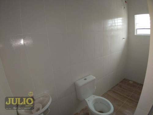 entrada r$ 26.980,00 + saldo super facilitado. aceito fgts, sobrado 2 dormitórios em  mongaguá agenor de campos pronto pra morar - so0727