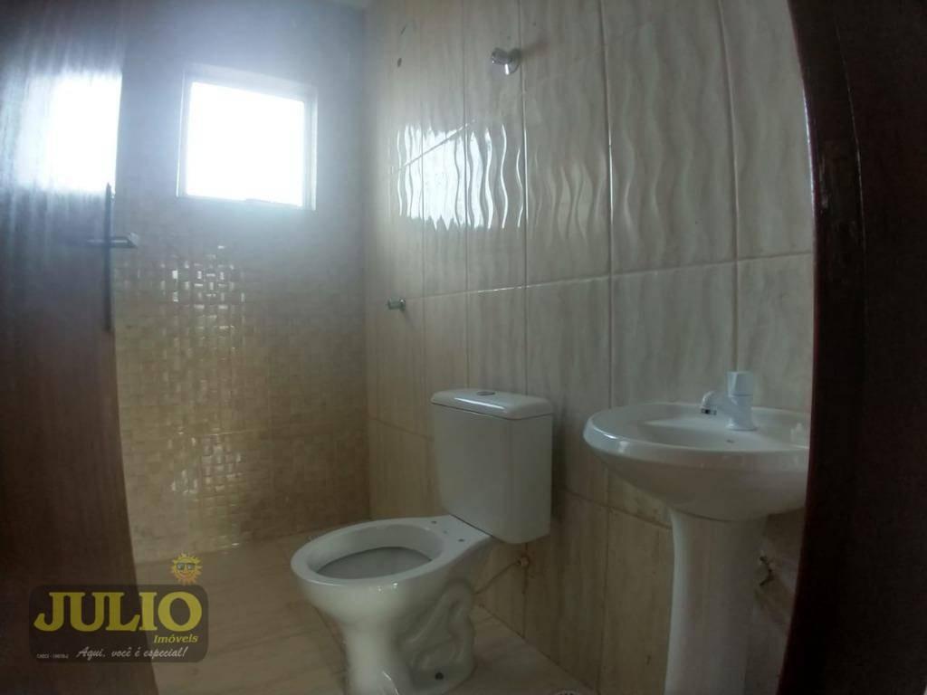 entrada r$ 34.000,00 sobrado,2 dormitórios com suíte, por r$ 169.900 - vera cruz - mongaguá/sp - so0480