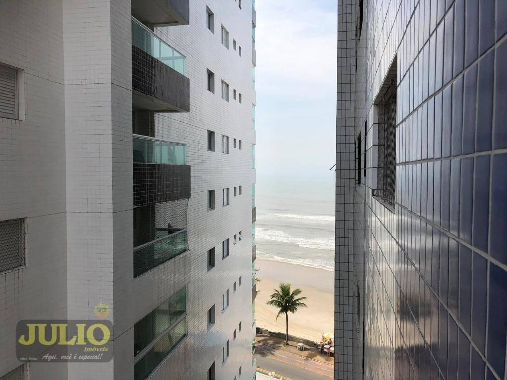 entrada r$ 45 mil e saldo super facilitado! apartamento com 2 dormitórios, 80 m² por r$ 225.000 - vila atlântica - mongaguá/sp - ap1018