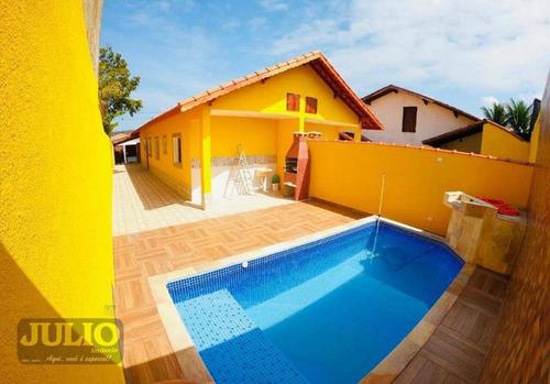 entrada r$ 55.000,00 + saldo super facilitado, use seu fgts, casa com 2 dormitórios, 81 m² - oceanópolis - mongaguá/sp - ca3622