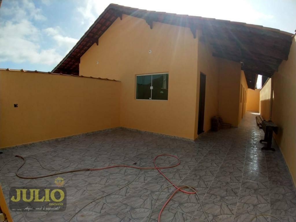 entrada r$ 79.900,00 + saldo em até 100 meses direto com proprietário, casa com 2 dormitórios  - flórida mirim - mongaguá/sp - ca3553