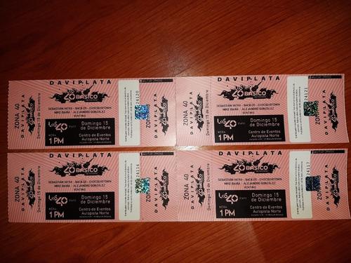 entradas a concierto