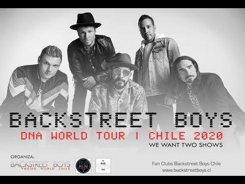 entradas backstreet boys 2020 - cancha   miercoles 04/03