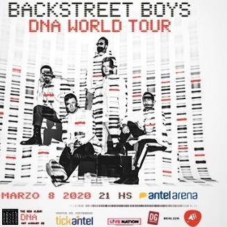 entradas backstreet boys 2020 dna world tour cancha general