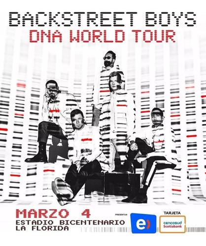 entradas backstreet boys (andes) 04 marzo 2020