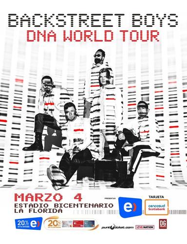 entradas backstreet boys dna tour 2020