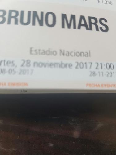 entradas bruno mars