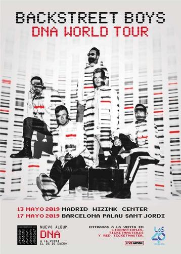 entradas cancha backstreet boys dna world tour