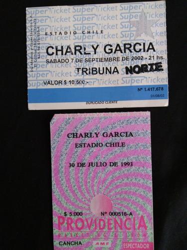 entradas charly garcia