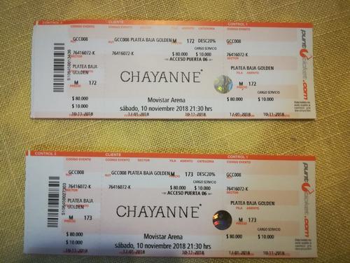 entradas chayanne