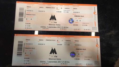 entradas concierto maluma primeras filas!!