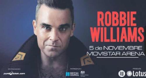entradas concierto robbie williams
