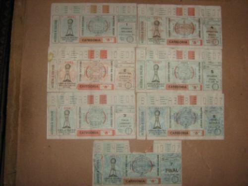entradas copa de oro del 80 uruguay