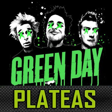 entradas green day platea preferencial ultima entrada fila17