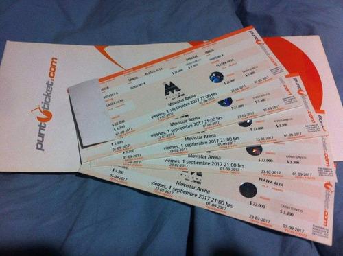 entradas maluma viernes 1 septiembre