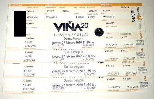 entradas maroon 5 & alex pires galerias viña del mar 27-02