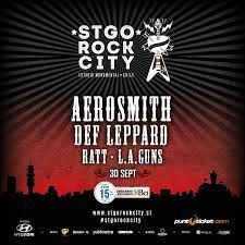 entradas stgo rock city - aerosmith &def leppard (galeria c)