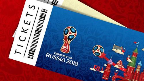 entradas tickets boletas para mundial rusia 2018 colombia