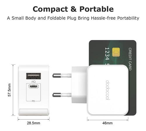entrega de carga rápida para apple macbook/ipad