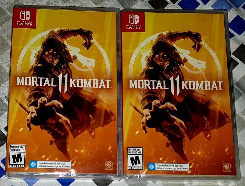Entrega Inmediata Mortal Kombat 11 Switch - Nuevo Y Sellado
