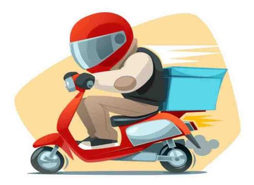 entregas de mercadorias de moto