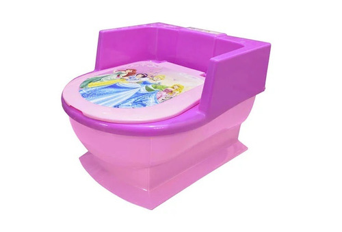 entrenador de baño princesas