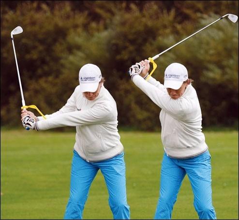 entrenador de swing de golf swingyde corrector de postura