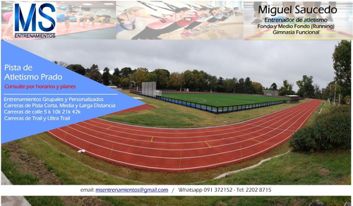 entrenador personal - running - gimnasia funcional