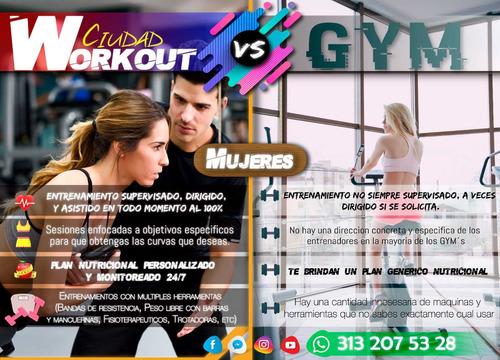 entrenador personalizado a domicilio en tu gym o parque