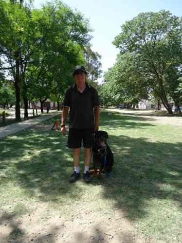 entrenador profesional egresado del kennel club argentino