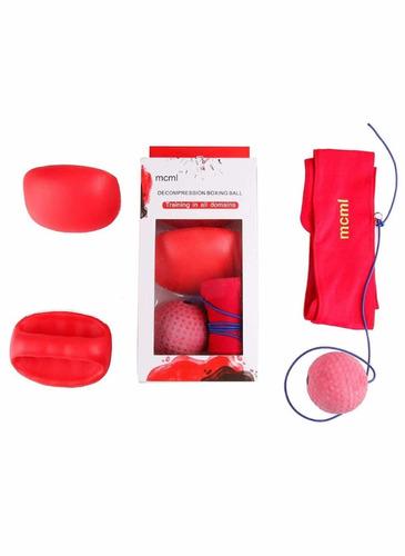 entrenamiento boxeo guantes pelota box