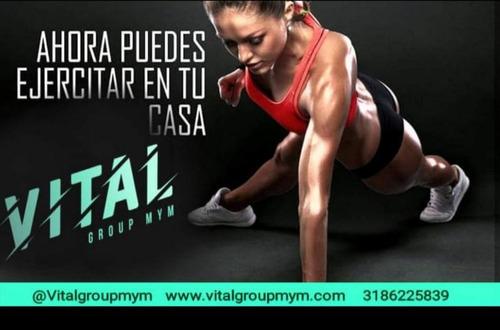 entrenamiento físico  personalizado y/o grupal