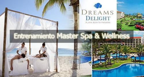entrenamiento masajes master spa & wellness msw2019