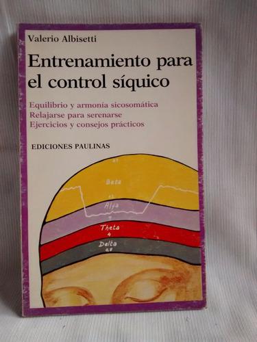 entrenamiento para el control siquico valerio albisetti