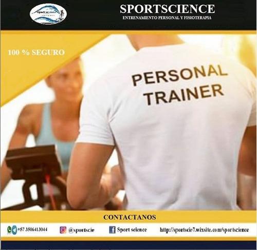 entrenamiento personal a domicilio