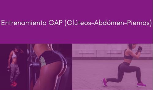 entrenamiento personalizado glúteos y piernas