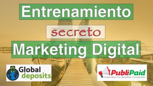 entrenamiento secreto de marketing digital 2020