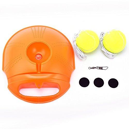 entrenamiento tenis con 2 bolas