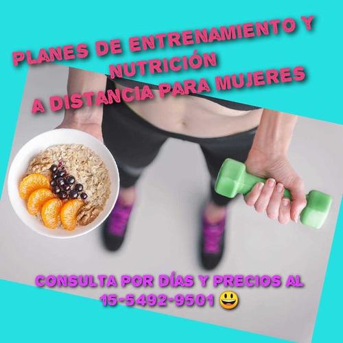 entrenamiento y nutrición