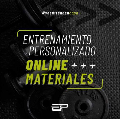 entrenamientos personalizados on line