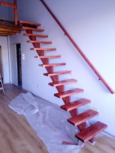 entrepiso de madera - escaleras - altillos