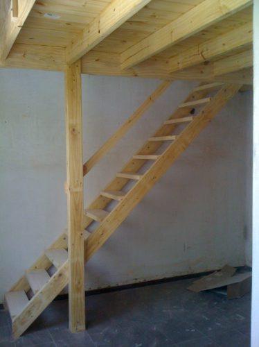 entrepiso de madera escaleras altillos desde 1200xmt2 - Como Hacer Escaleras De Madera