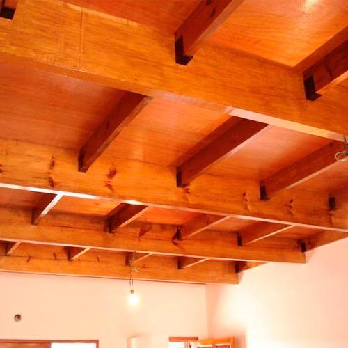 entrepiso o altillo  de madera de pino y/o eucalipto por m2