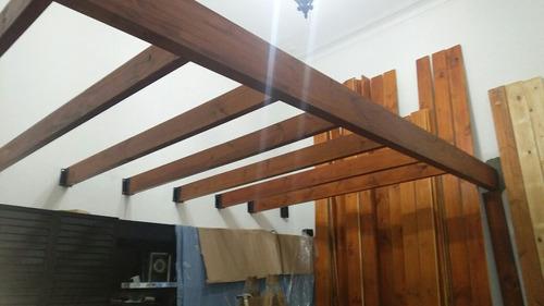 entrepisos de madera a medida