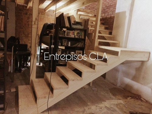 entrepisos de madera - escaleras - altillos -barandas-techos