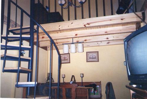 entrepisos en madera, metal o combinados, carpintería jb
